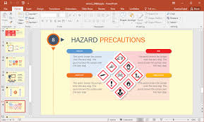 Hazard Chart Animated Whmis Powerpoint Template
