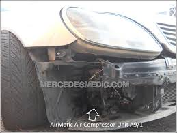 air suspension compressor installation guide diy how to repair mercedes benz air matic air compresor repair how to replace location 04