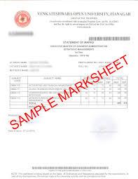 Sample Degree Certificates Of Universities Sample Certificate For Wilp Program Venkateshwara Open