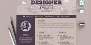 10+ Free Resume Templates For Graphic Designers