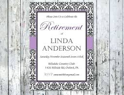 Retirement Luncheon Invitation Template Templates 25853 Resume