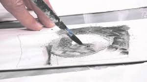 drawing tools. How To Sketch Using Watersoluble Drawing Tools L