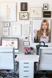 10 fashionable home office decors to inspire your own workspace styling amazing office decor office