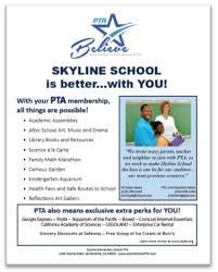 Pta Elections Flyer Customizable Membership Flier California State Pta
