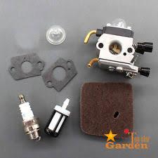 stihl weedeater fs45. carburetor kit f stihl trimmer fs45 fs46 fs46c air fuel filter \u0026 spark plug carb weedeater fs45 :