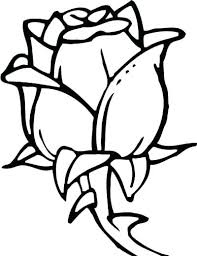 Flowers Printable Coloring Pages Coloring Page Flowers Easy Flower