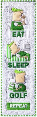 Amy Bradley Designs Eat Sleep Golf quilt pattern | Spring Quilts ... & Amy Bradley Designs Eat Sleep Golf quilt pattern Adamdwight.com