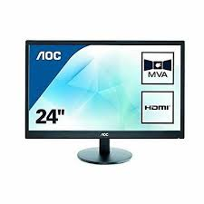 <b>AOC Value</b>-<b>line M2470SWH</b> (<b>23.6</b> inch) LCD Monitor 3000:1 250cd ...