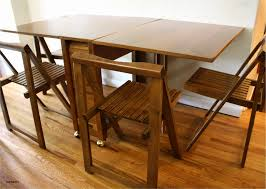 folding dinner table minimalist folding dining room table chairs inspirational mid century od 49