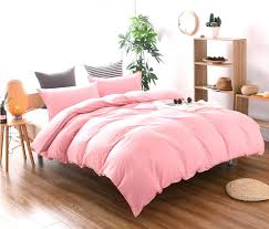 pink queen quilt hot home textile solid color super soft pink duvet cover pillowcase set queen king solid pink quilt queen