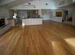 Flooring Ideas, Interior Design Idea With Carbonized Bamboo Flooring Near  Kitchen Area: Get More ...