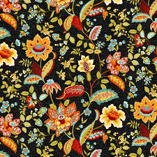 Buy Marigold Jacobean Black/Orange Floral Rainbow Quilt Wall in ... & Buy Marigold Jacobean Black/Orange Floral Rainbow Quilt Wall in Cheap Price  on Alibaba.com Adamdwight.com