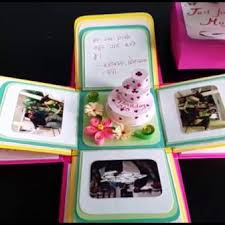 3d Birthday Cake Card Template Animated How To Make Step By Cricut