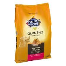 nature s recipe grain free dog food salmon sweet potato pumpkin