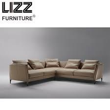 scandinavian leather furniture. Corner Sofas Loveseat Chair Sofa Para Sala Living Room Furniture Modern Design Scandinavian Feather Leather G