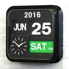 digital office wall clocks digital. Flip Wall Clocks Digital Office Wade Clock Ideal For Shop Kitchen Or I