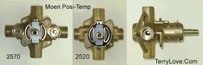 moentrol shower valve leak