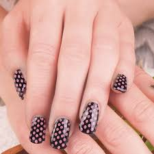 Amazing Pink And Black Nail Design Ideas