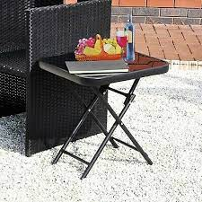 folding chair table furniture drinks