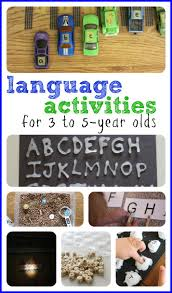 tons of age activities for 3 to 5 year olds