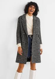 bach classic coat black