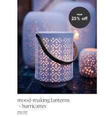now 25 off mood making lanterns hurricanes