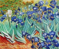 irises vincent van gogh small 8 x 10 159 00
