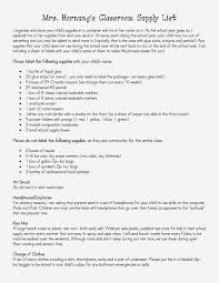 welcome letters for parents the eager teacher supply list