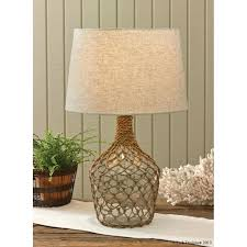 sea glass lamp sea glass lamp base