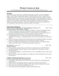 Executive Personal Assistant Resume Sample Executive Assistant