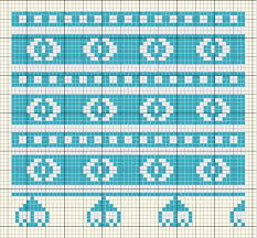 Embroidery Chart Embroidery Chart Of A Romanian Geometric Design