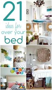 over the bed ideas above decor wall bath and beyond
