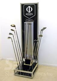 Golf Club Display Stand Olympia Golf Club Stand Custom Point Of Purchase Point Of Sale 66