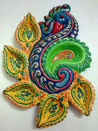 Diwali Diya Designs Photos Diwali Diya Designer Diwali Diya Peacock Diya 5