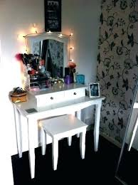 lighting for vanity makeup table. Dressing Table With Lights Light Bulbs Makeup Desk Vanity Mirror And Drawers Lighting For U