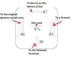 30 amp relay wiring diagram wirdig relay i bought a pack of 5 30 40 amp 5
