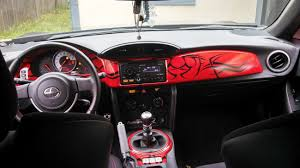 subaru brz red interior. Delighful Brz My Custom Dash In My FRS  Scion FRS Forum  Subaru BRZ Toyota 86  GT AS1 FT86CLUB Inside Brz Red Interior N