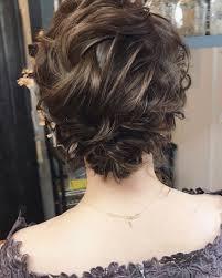 ボブローシニヨン ボブ2019 外国人風 ヘア髪型アップ