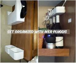 RV Storage Ideas RV Storage Solutions Used Ikea Pluggis to organize cell  phones, keys,