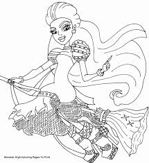 Monster High Coloring Pages Pdf Baby Boomme