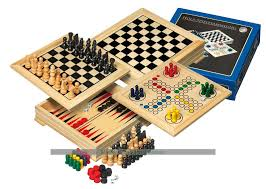 Wooden Games Compendium Philos Travel Wooden Game Compendium 100cm 100 games 5