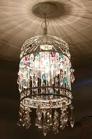 68 most blue ribbon vintage chandelier birdcage light fixture french deer antler acrylic pendant lights