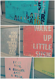 cover wood canvas with old news paper apply letter stickers or painter s tape spray paint then peel stickers off  on my thoughtful wall letter art with 39 easy diy ways to create art for your walls pinterest create