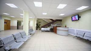 post business office. Waiting Hall With Seats And Cloakroom In Modern Office Center - HD Stock Video Clip Post Business U