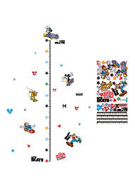 Shop Generic Mickey Height Measurement Chart Removable Wall
