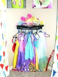 little girl dress up closet dressing storage wardrobe new playroom diy princess