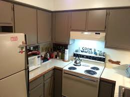 foobella designs painting laminate kitchen cabinets done can you paint without sanding painted 20161103 104242 cabinets