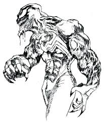 Spiderman Vs Venom Coloring Pages At Getdrawingscom Free For