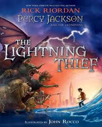 the lightning thief ilrated edition percy jackson and the olympians series 1 by rick riordan john rocco nook book ebook barnes le