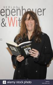 us rock icon patti smith presents her book just kids in cologne germany 19 march 2010 the book offers an inside view on her relationship with